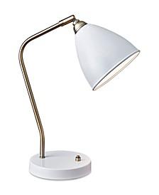 Chelsea Desk Lamp with USB Port