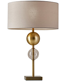 Adesso table lamp lamps light fixtures macys adesso chloe table lamp aloadofball Image collections