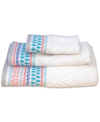 Home Boho Cotton Jacquard Bath Towel