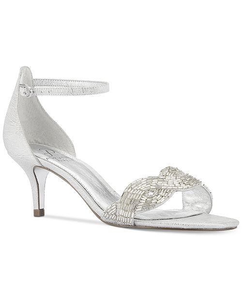 Adrianna Papell Aerin Evening Dress Sandals