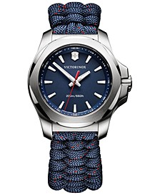 Women's I.N.O.X. Blue Paracord Strap Watch 37mm