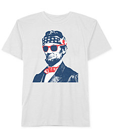 Abraham Lincoln Men's T-Shirt by Hybrid Apparel
