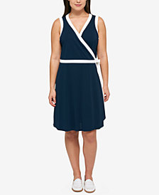 Tommy Hilfiger Plus Size Wrap Dress
