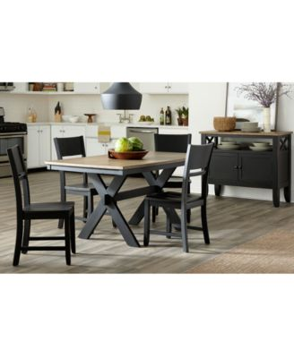 Archer Dining Furniture, 5 Pc. Set (Dining Table U0026 4 Side Chairs), Created  For Macyu0027s   Furniture   Macyu0027s