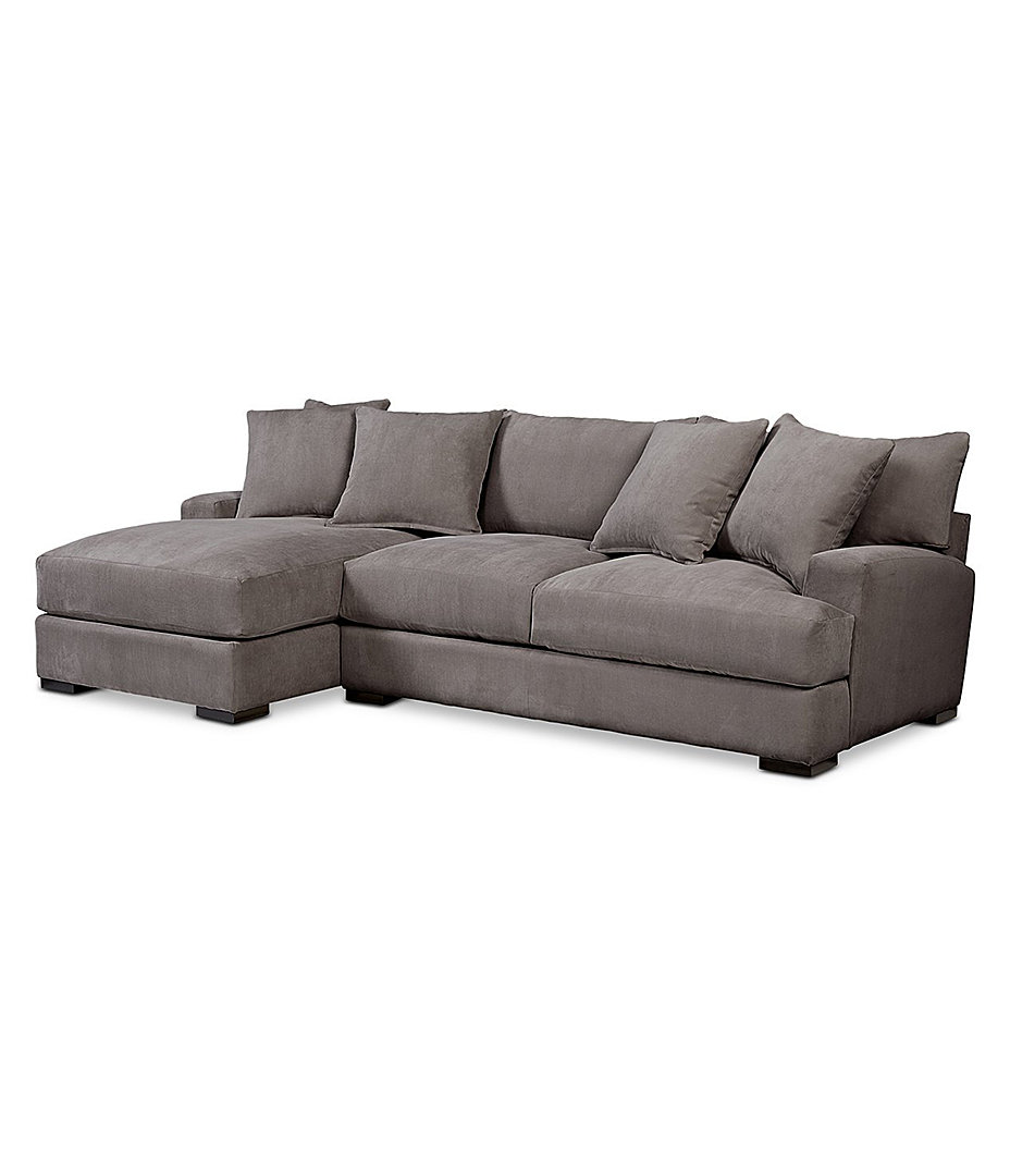Furniture rhyder 2 pc fabric sectional sofa with chaise created for macys furniture macys