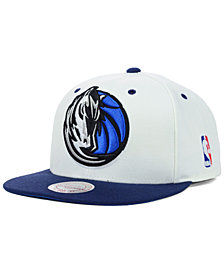 Mitchell & Ness Dallas Mavericks Undertime Snapback Cap