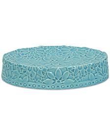 Jessica Simpson Bonito Blue Soap Dish