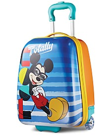 "Disney Mickey Mouse 18"" Hardside Rolling Suitcase By American Tourister"