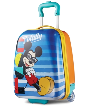 Disney Mickey Mouse 18 Hardside Rolling Suitcase By American Tourister