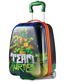 """Ninja Turtles 18"""" Hardside Rolling Suitcase By American Tourister"""