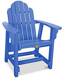 Essentials Adirondack Outdoor Conversational Chair, Quick Ship