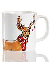 The Cellar Deer Mug, Created for Macy's