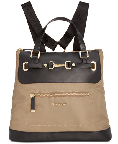 Calvin Klein Lianna Convertible Backpack