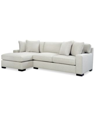 Bangor 2 Pc. Sectional Sofa With Chaise, Created For Macyu0027s