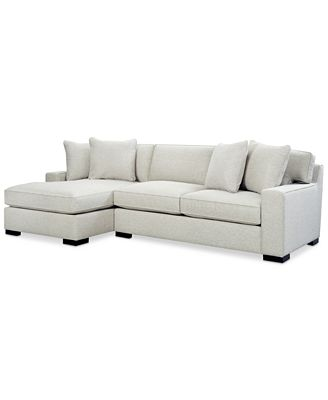 Furniture Bangor 2 Pc Sectional Sofa With Chaise Created For