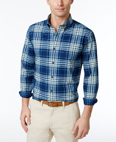 Brooks Brothers Red Fleece Men's Slim Fit Plaid Shirt