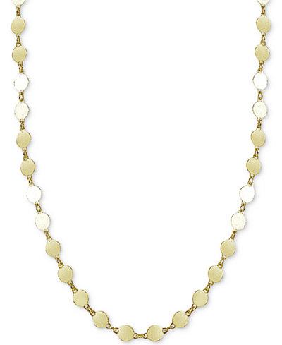 Giani Bernini Round Disc Choker Necklace, Created for Macy's