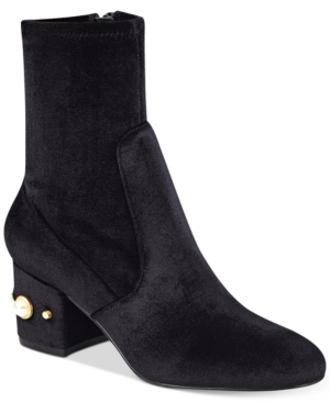 Ivanka Trump Previ Detailed Ankle Booties Women