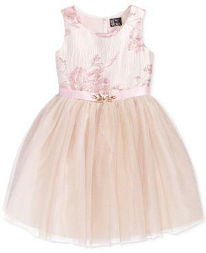 Pink & Violet Brocade Ballerina Dress, Little Girls (2-6X) 4604514