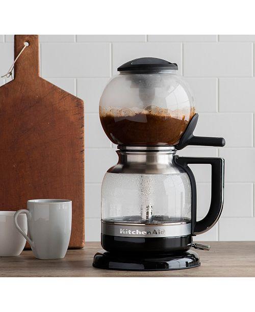 Kitchenaid Kcm0812ob Siphon Coffee Brewer Coffee Tea Espresso