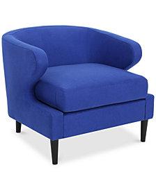 Britan Accent Chair, Quick Ship