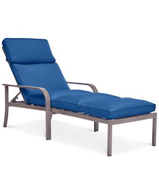 Ocean Port Aluminum Outdoor Chaise Lounge   Furniture   Macyu0027s