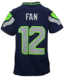 Fan #12 Seattle Seahawks Limited Jersey, Big Boys (8-20)