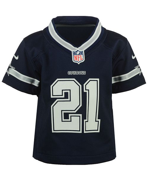 hot sale online 0879f fc06a Ezekiel Elliott Dallas Cowboys Game Jersey , Infant Boys (12-24 months)