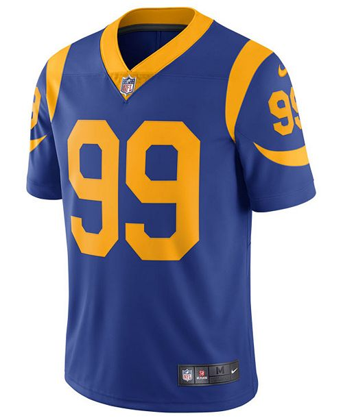differently 58847 6f939 Men's Aaron Donald Los Angeles Rams Vapor Untouchable Limited Jersey