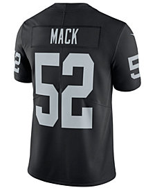 Nike Men's Khalil Mack Oakland Raiders Vapor Untouchable Limited Jersey