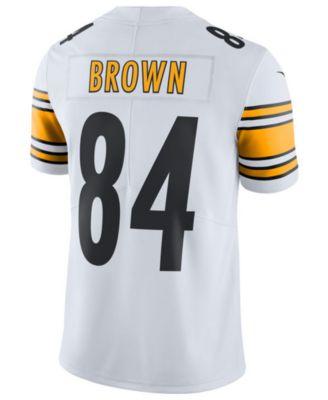 reputable site 061ba 69f2e Men's Antonio Brown Pittsburgh Steelers Vapor Untouchable Limited Jersey
