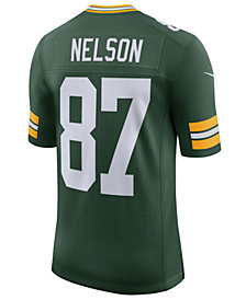 Nike Men's Jordy Nelson Green Bay Packers Vapor Untouchable Limited Jersey