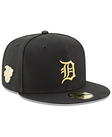 New Era Detroit Tigers The League Metallic Patch 59FIFTY Fitted Cap