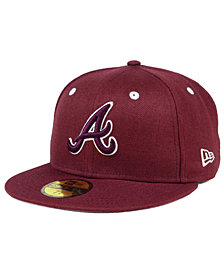 New Era Atlanta Braves Pantone Collection 59FIFTY Fitted Cap