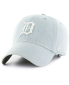 '47 Brand Detroit Tigers All Denim Clean Up Cap