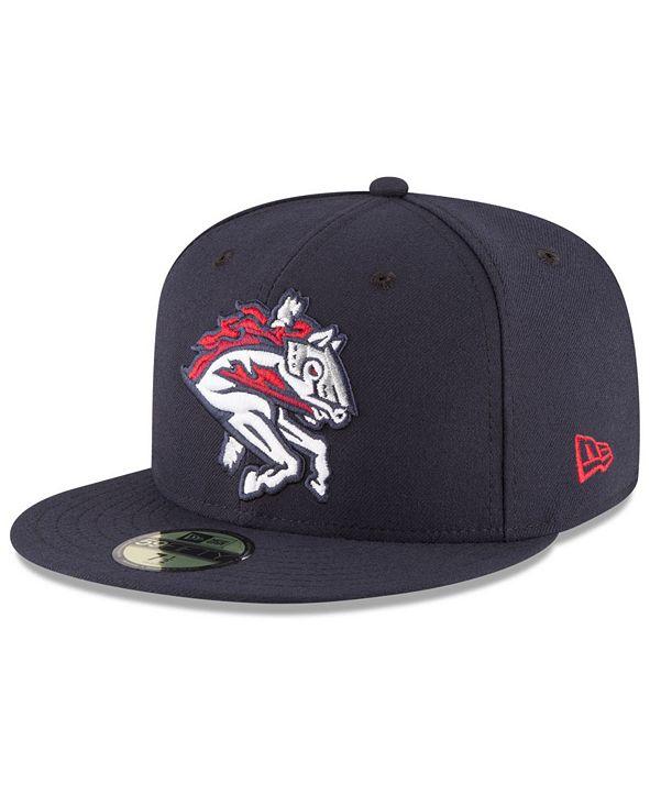 New Era Binghamton Rumble Ponies AC 59FIFTY Fitted Cap
