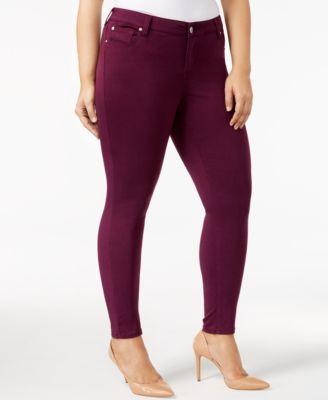 Purple Women's Plus Size Jeans - Macy's