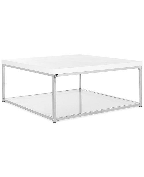 Safavieh Malone Coffee Table Quick Ship Furniture Macys