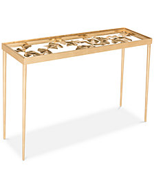 Otto Ginko Leaf Console,  Quick Ship