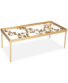 Rosalia Butterfly Coffee Table, Quick Ship