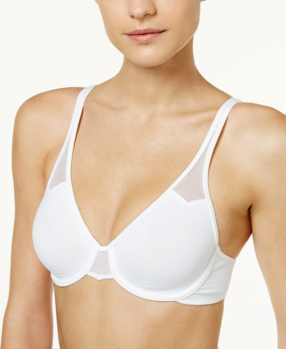 Wacoal Body by Wacoal Seamless Underwire 65115, White, Size: 32C