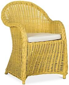 Callista Wicker Club Chair, Quick ship