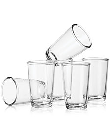 Martha Stewart Collection Tumbler Glasses Set of 6, Created for Macy's