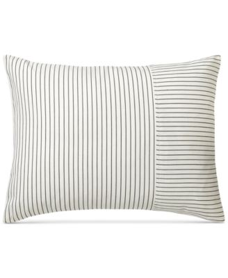 "Devon Ticking-Stripe 15"" x 20"" Decorative Pillow"