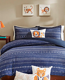 INK+IVY Kids Oliver  3-Pc. Twin Duvet Cover Set