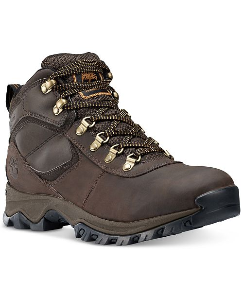 c6154886536 Timberland Men s Mt. Maddsen Waterproof Hiking Boots   Reviews - All ...