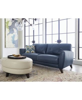 myia leather sofa and loveseat set created for macyu0027s furniture macyu0027s