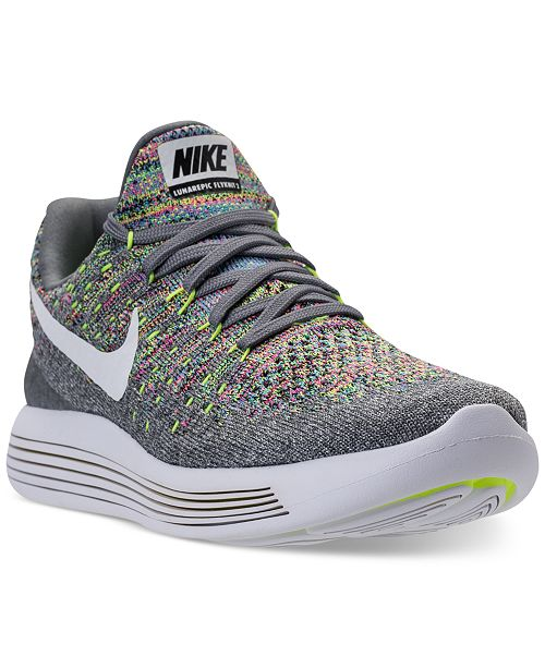251b2ce772459 ... Nike Women s LunarEpic Low Flyknit 2 Running Sneakers from Finish ...