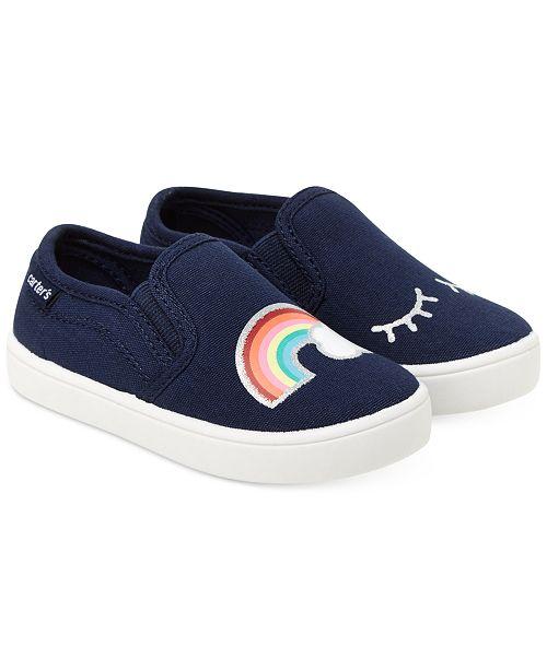 b88354e77c13 ... Little Girls  Carter s Tween Slip-On Sneakers