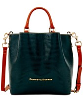 a9cc8d864e Dooney   Bourke Small Barlow Embossed Leather Tote